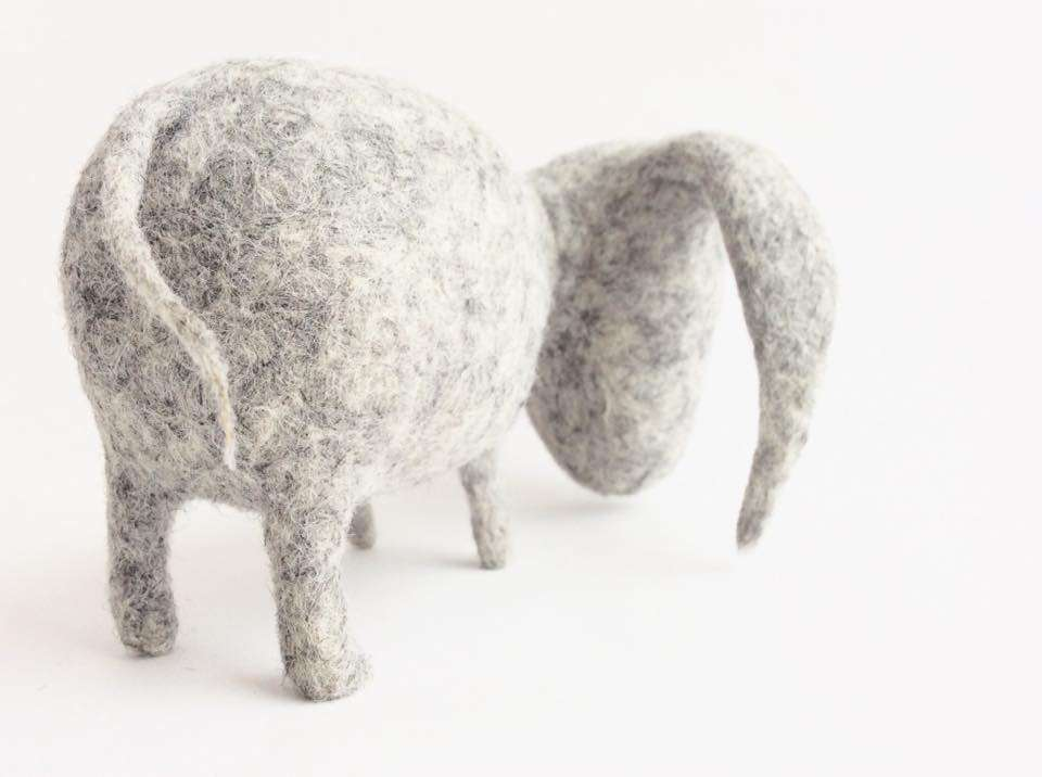 "Sculptures ""Threeclops Eeyore"""