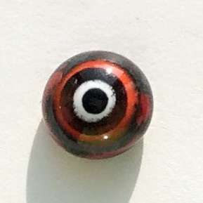 Black red. 8 mm