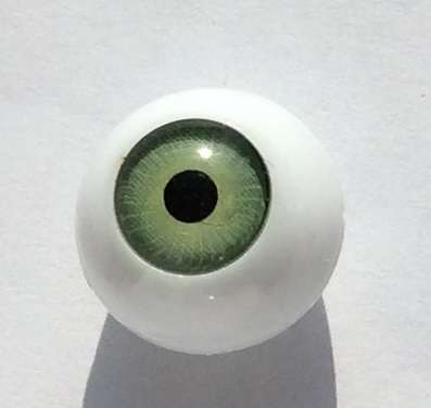 Vintage plastic eyes. 12 mm.