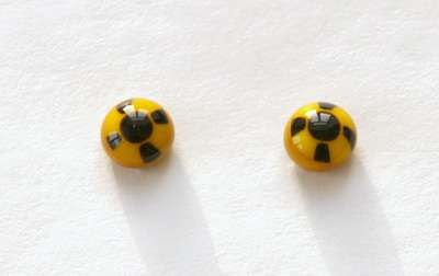 Yellow black. 7 mm