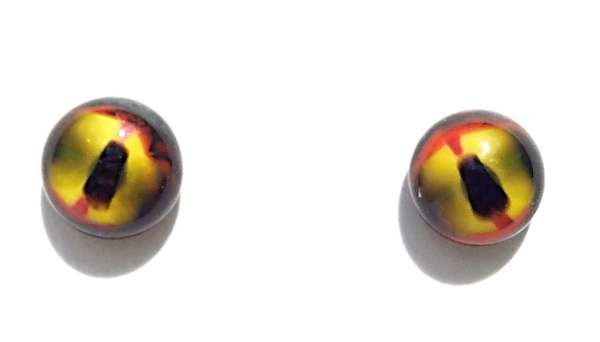 Yellow-red-black. 8 mm