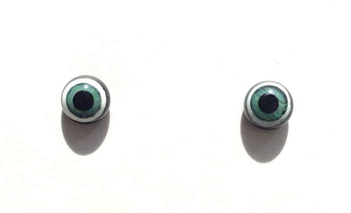Green black. 7 mm