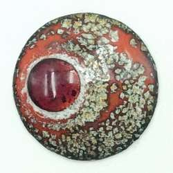 Enamel eyes-buttons. 10 mm.