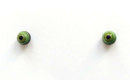 Green on black. 4 mm. 2.5 euro.