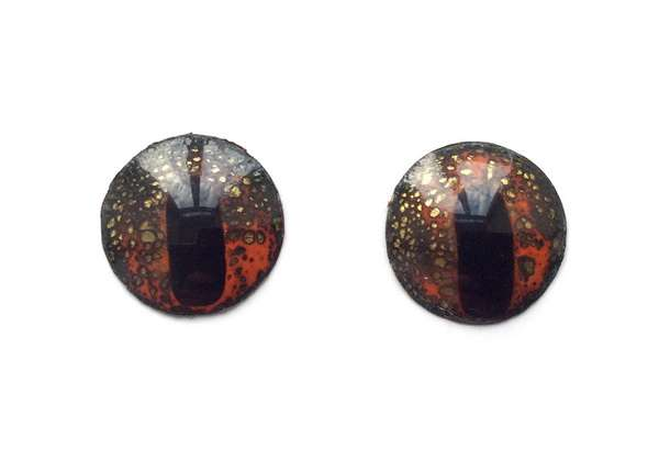 Enamel eyes-buttons. 16 mm. 5 euro.