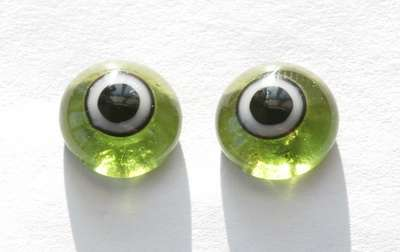 Green whit ring. 13 mm