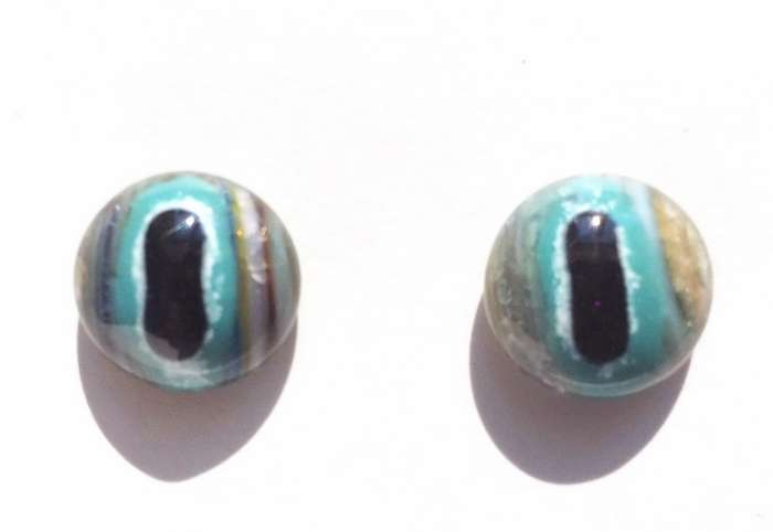 Turquoise on strip. 15 mm