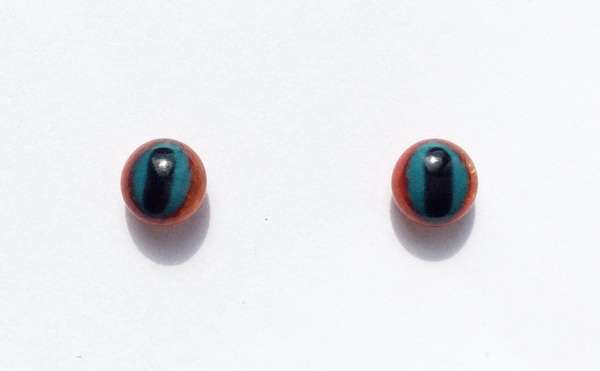 Blue red. 7 mm