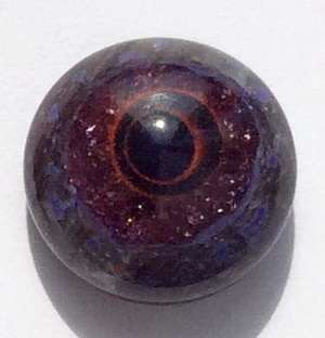 Violet-red-grey. 13 mm