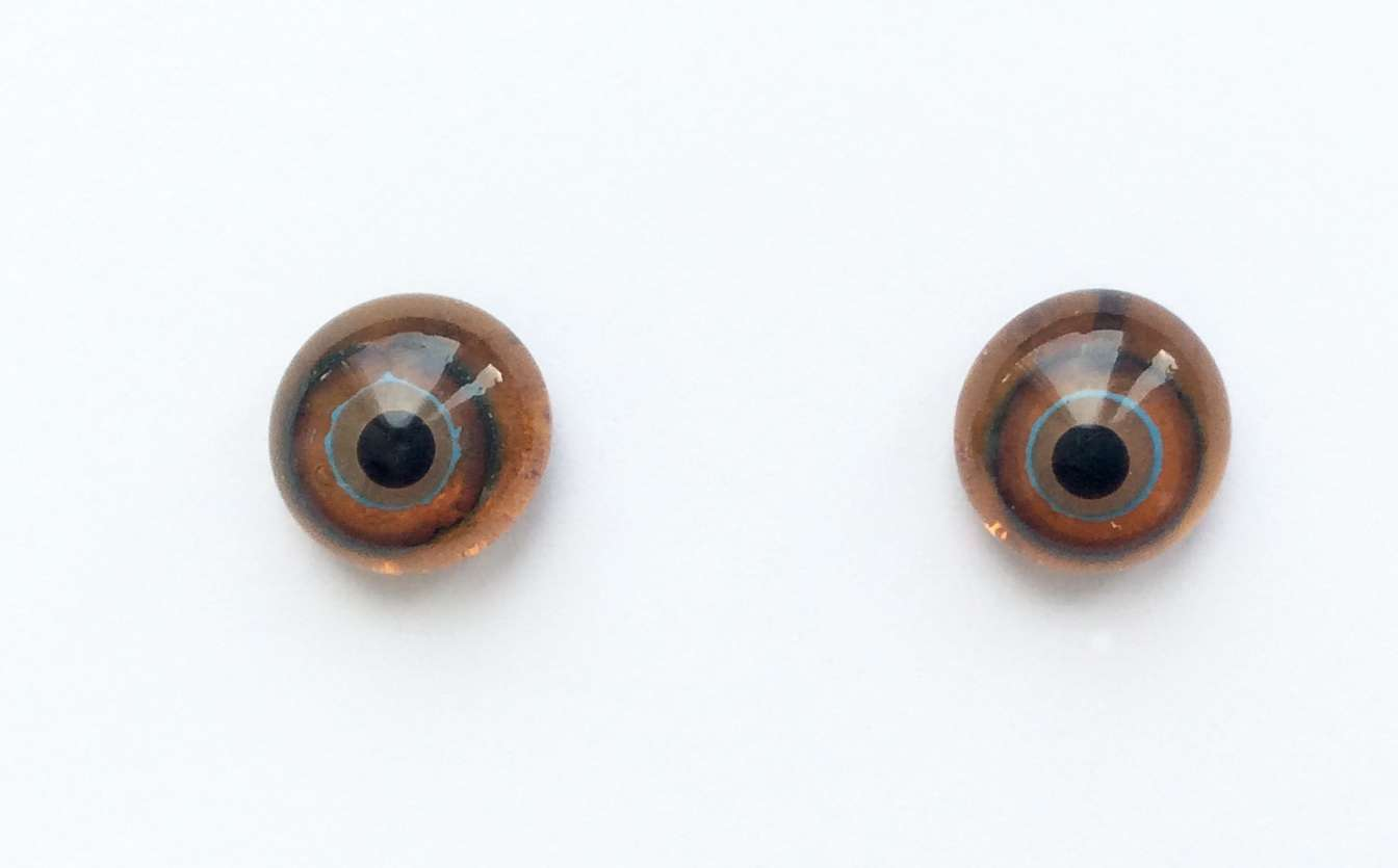 Brown blue. 10 mm