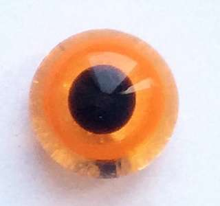 Orange on yellow. 7 mm