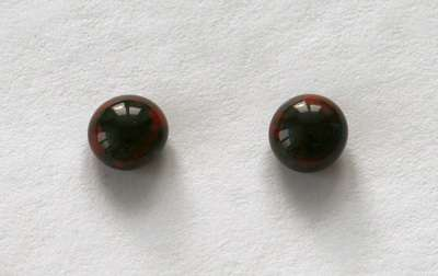 Grey red. 8 mm